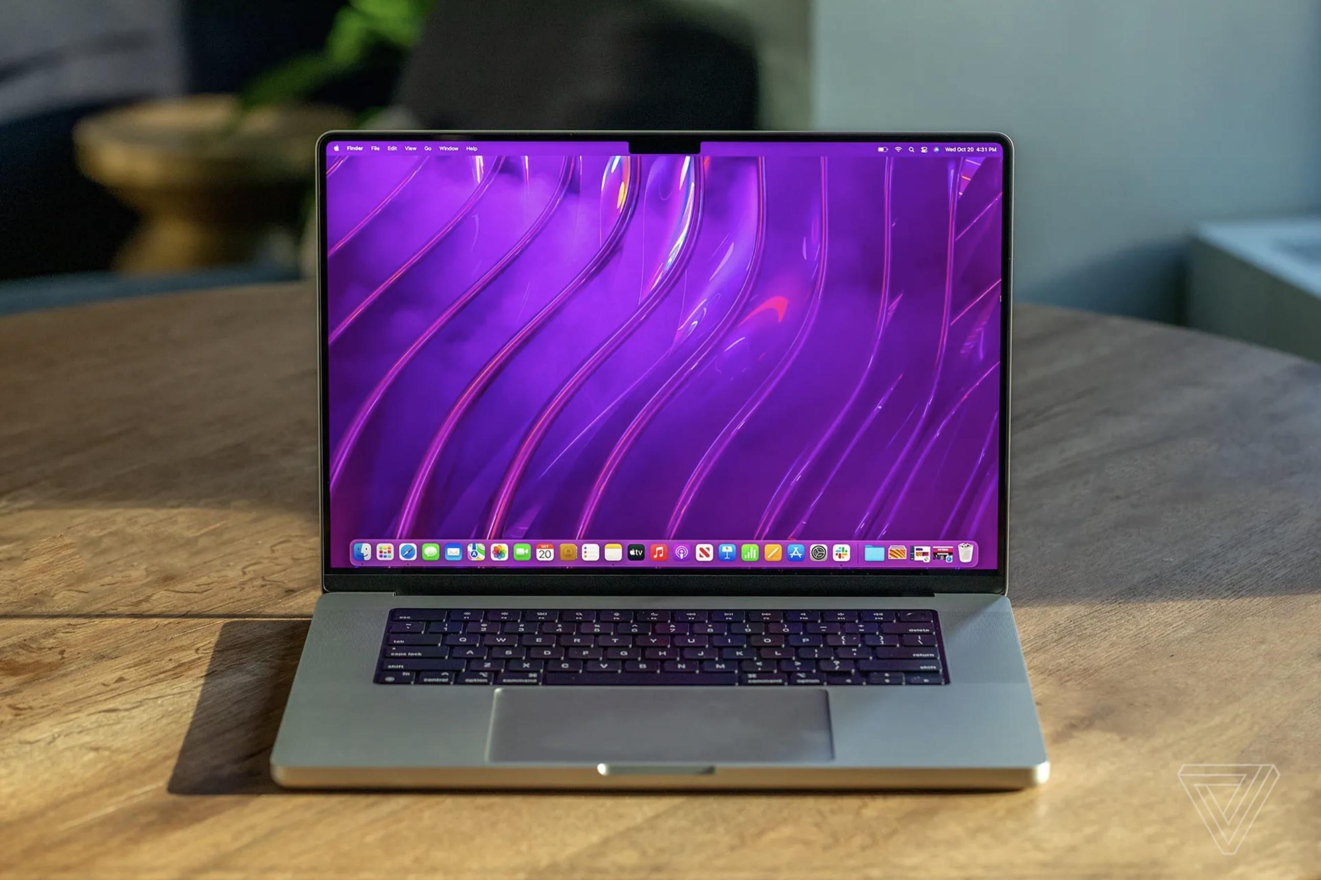 macbook pro 2021 verge