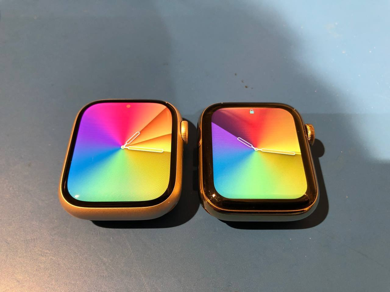 New Image Offers Clearer Look at Apple Watch Series 7 Screen Size Compared to Series 6