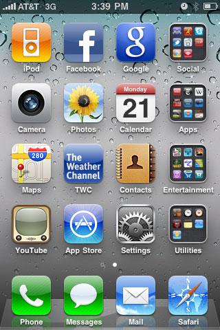 iPhone iOS 4