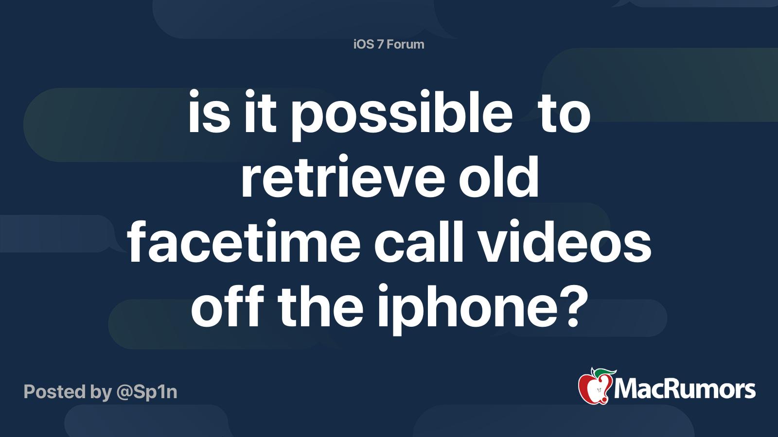 Videos facetime go do where FaceTime On