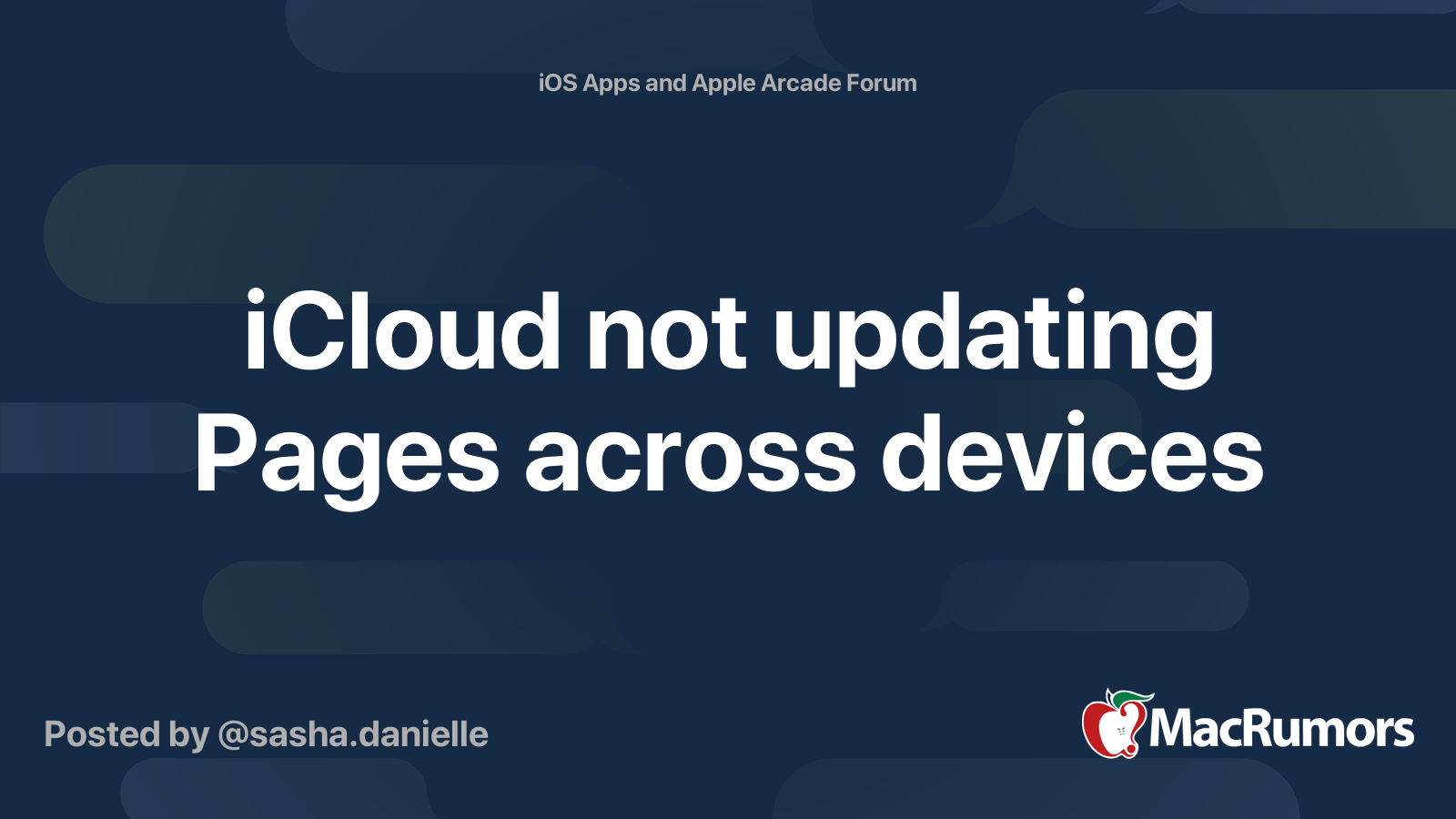 Pages not updating icloud table for 8 dating