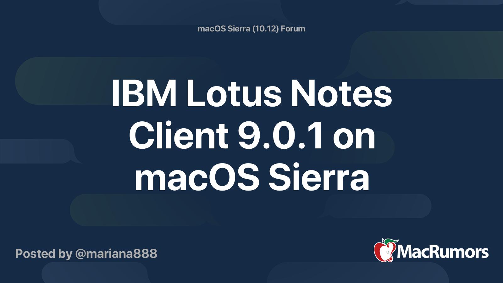 Lotus notes 8.5 download