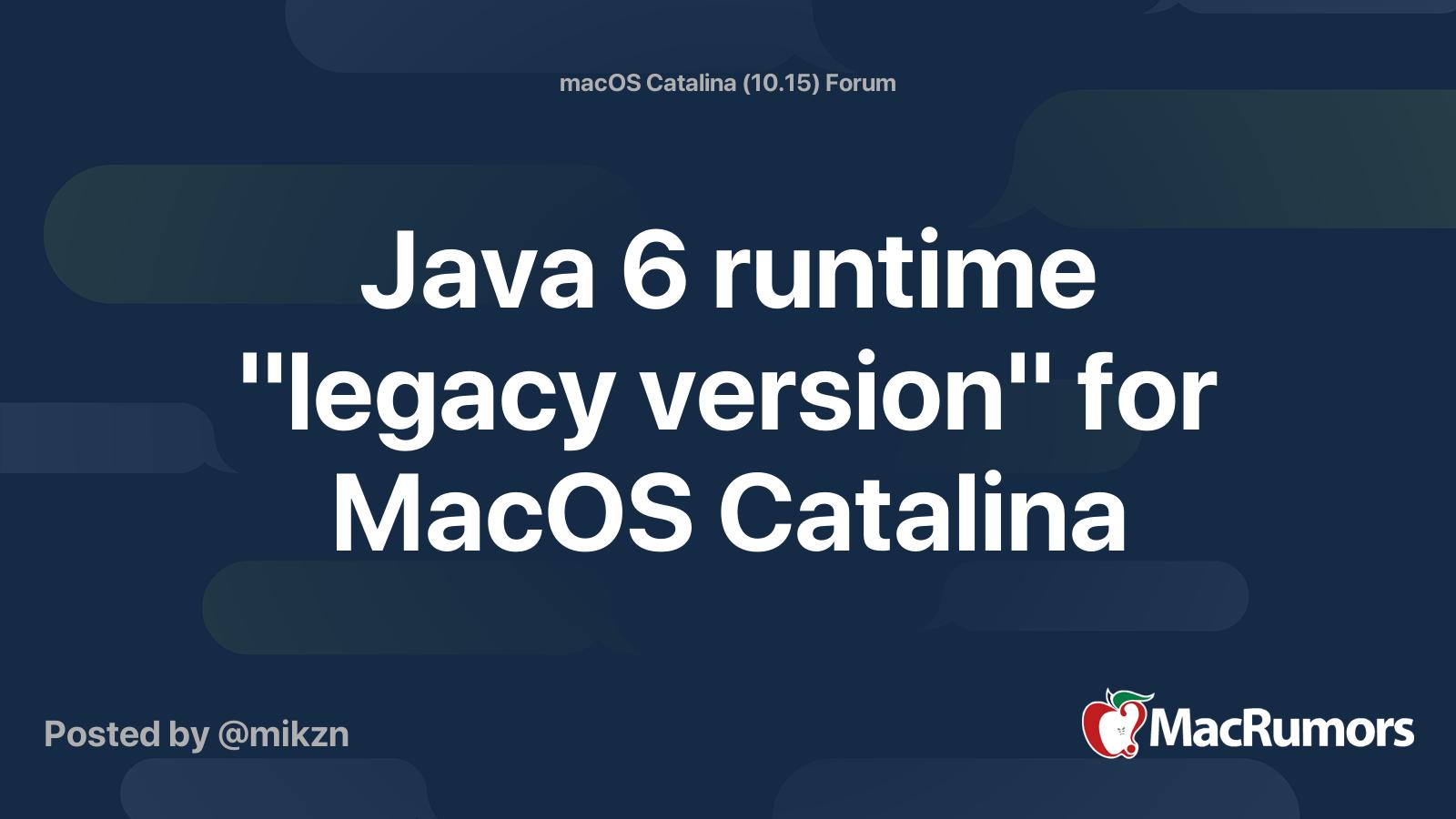 Java Jdk 1.6 For Mac Os X