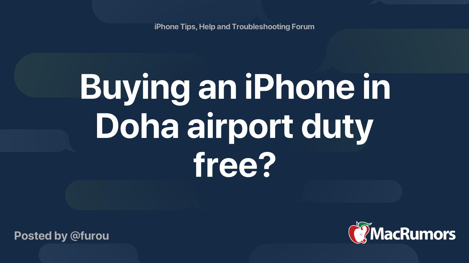 doha airport duty free mobile phones price list