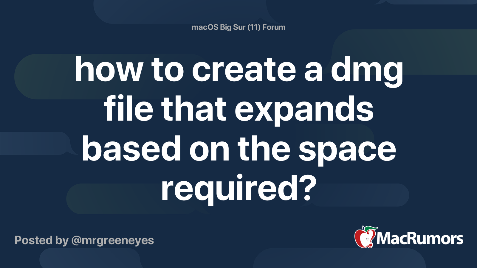 How To Create A Dmg File