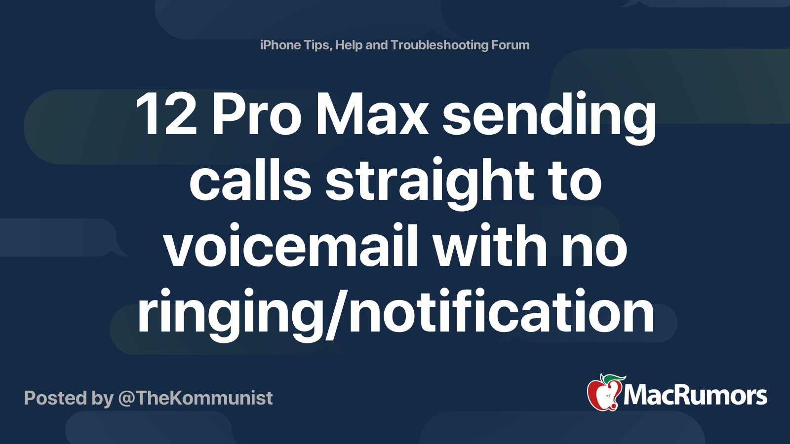 Then phone rings voicemail once How Many