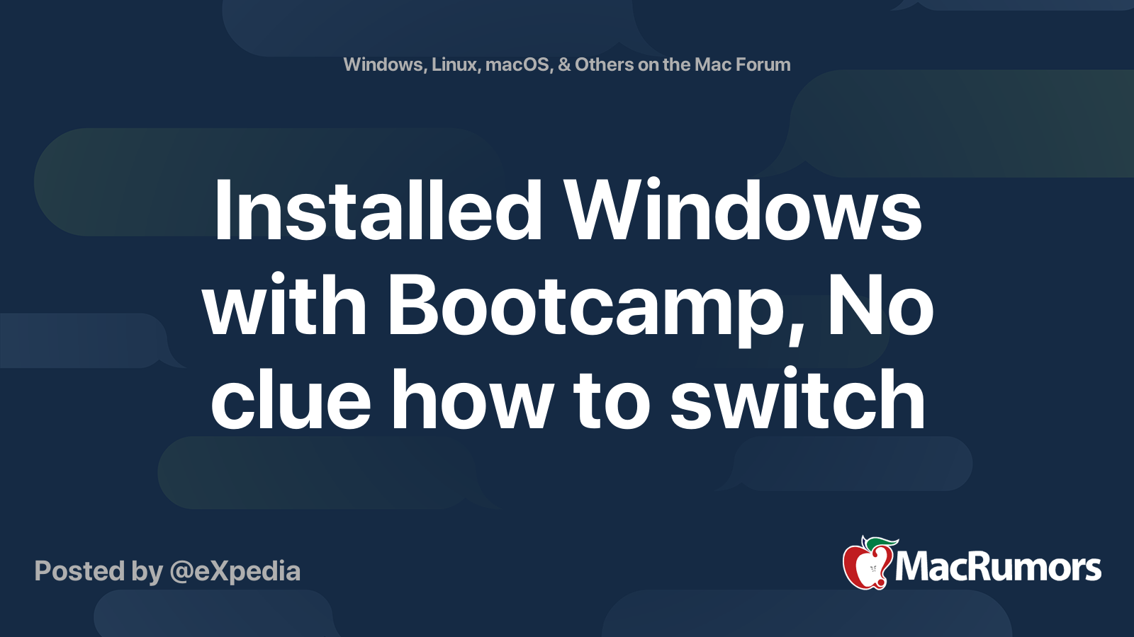 Switch Between Mac Os And Windows Boot Camprdyellow