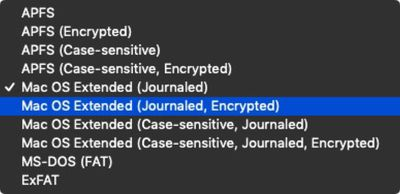 how to encrypt a usb stick in macos mojave 08