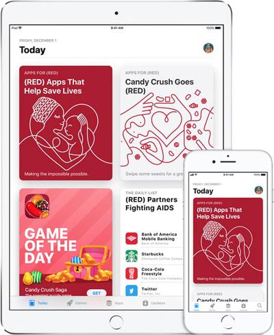 app store world aids day