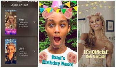 snapchat studio on ios