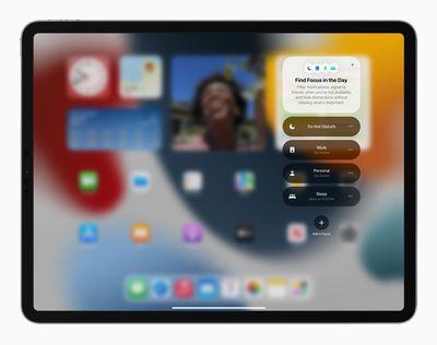 Apple iPadPro iPadOS15 springboard focus 060721 big