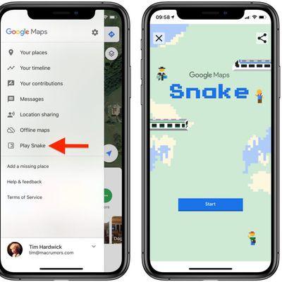 snake google maps