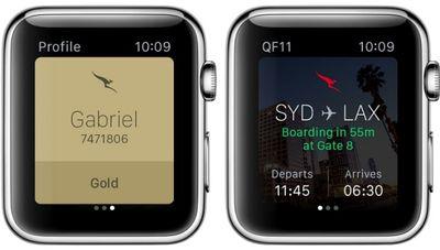 qantas watch app