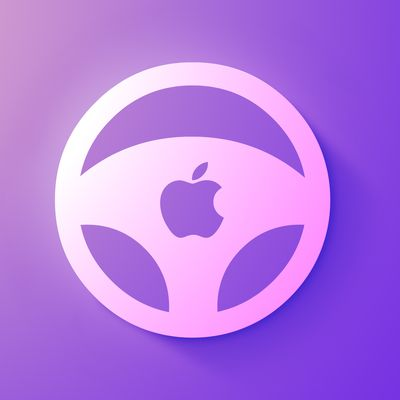 Apple car wheel icon feature purple
