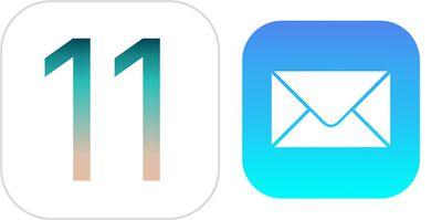 ios 11 mail
