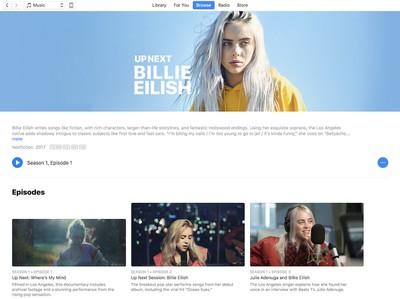 apple music up next billie eilish