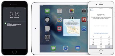 iOS two-factor authentication