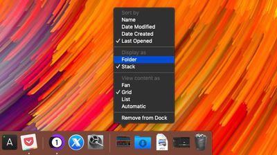 create a recent items folder 6