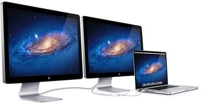 thunderbolt displays macbook pro