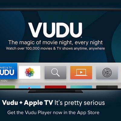 vudu player apple tv