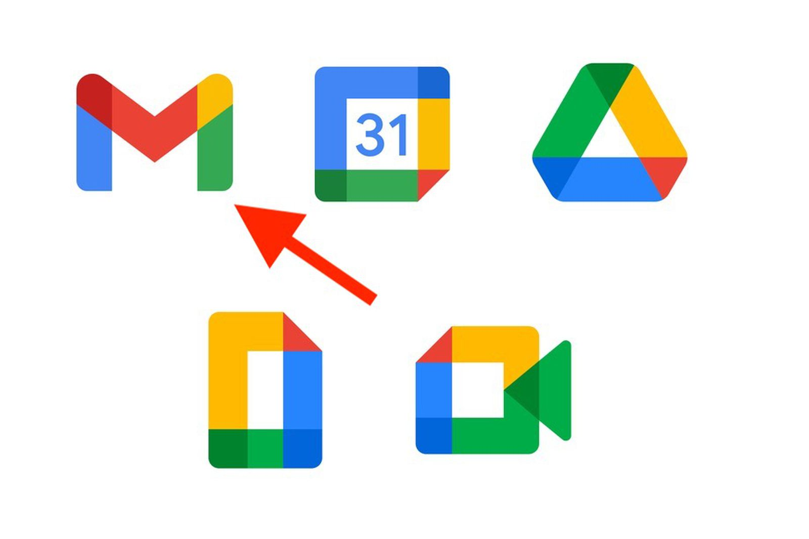 Gmail to Get New Icon as Part of G Suite Rebranding – MacRumors
