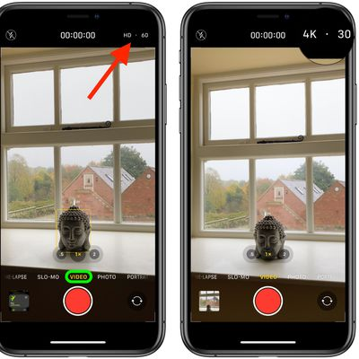 how to change video quality camera app iphone 11