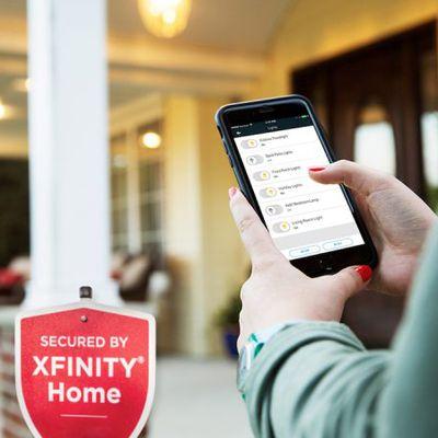 xfinity home philips hue
