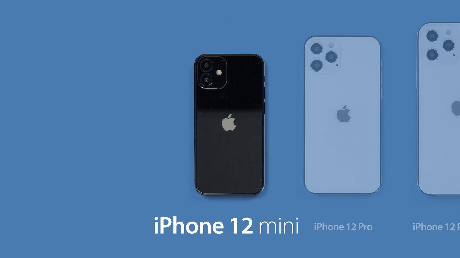 Leaker Iphone 12 Mini And Iphone 12 Storage Capacities Start At 64gb Pro Models At 128gb Macrumors