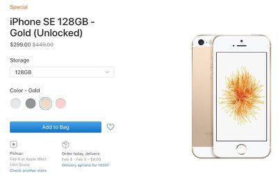 iphone se clearance third