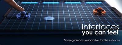 senseg haptic banner