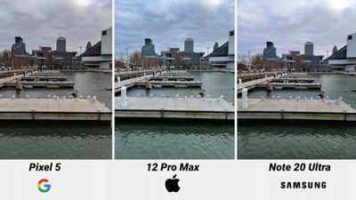 iphone 12 camera comparison blue sky 2