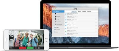 ring video doorbell 2 mac iphone