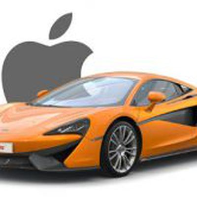McLaren Apple logo