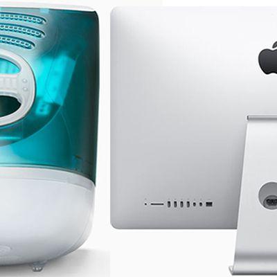 iMac G3 vs 2015