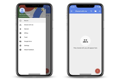 google docs iphone x