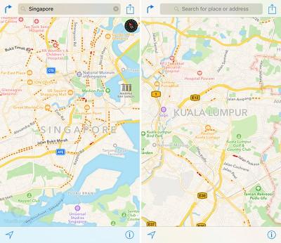 apple_maps_traffic_singapore_malaysia