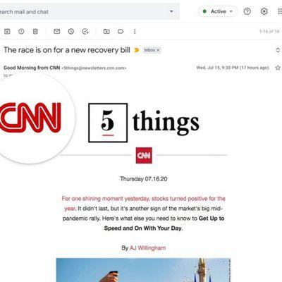 gmail logo display
