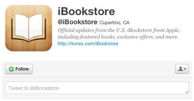 ibookstore twitter
