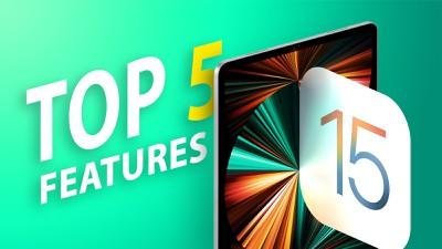 ipados 15 top features