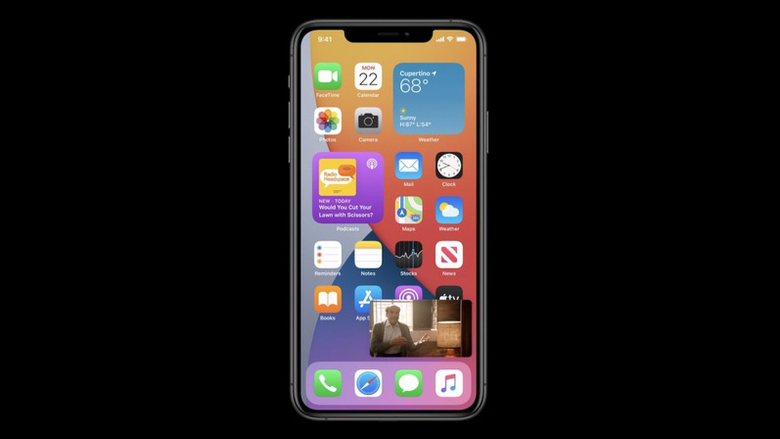 Ios 14 Includes Picture In Picture Mode For Iphone Macrumors