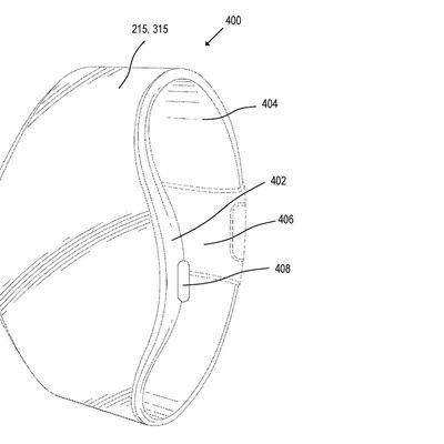 apple watch wrap around display patent design