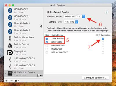 how to share mac audio between two pairs bluetooth headphones04