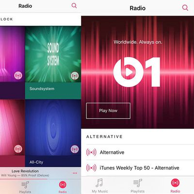 Apple Music Radio Beats 1 Beta