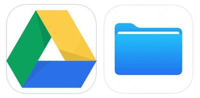 google drive apple files
