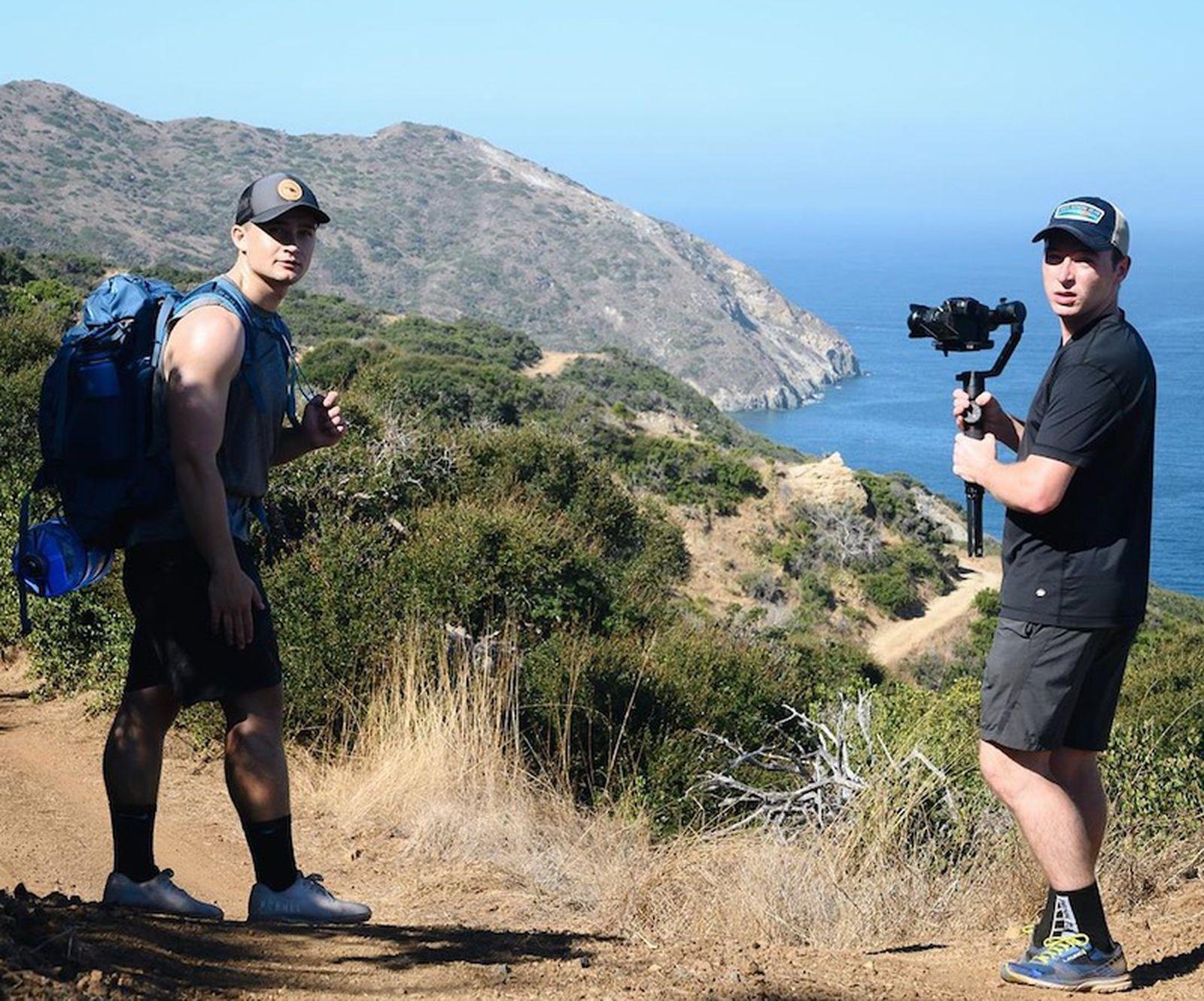 Trio Of Friends Make Challenging Hike Across Catalina Island To Recreate The Macos Catalina Wallpaper Macrumors