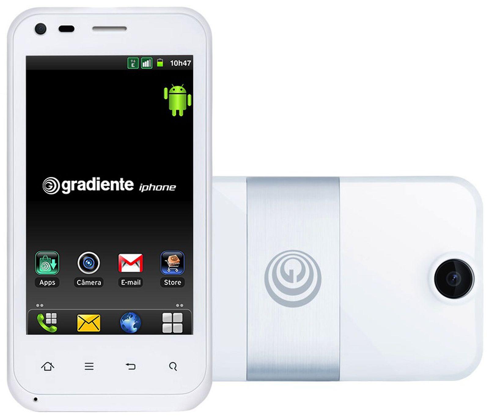 gradiente iphone white.'