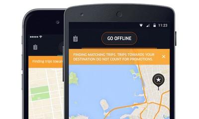 uber driver update