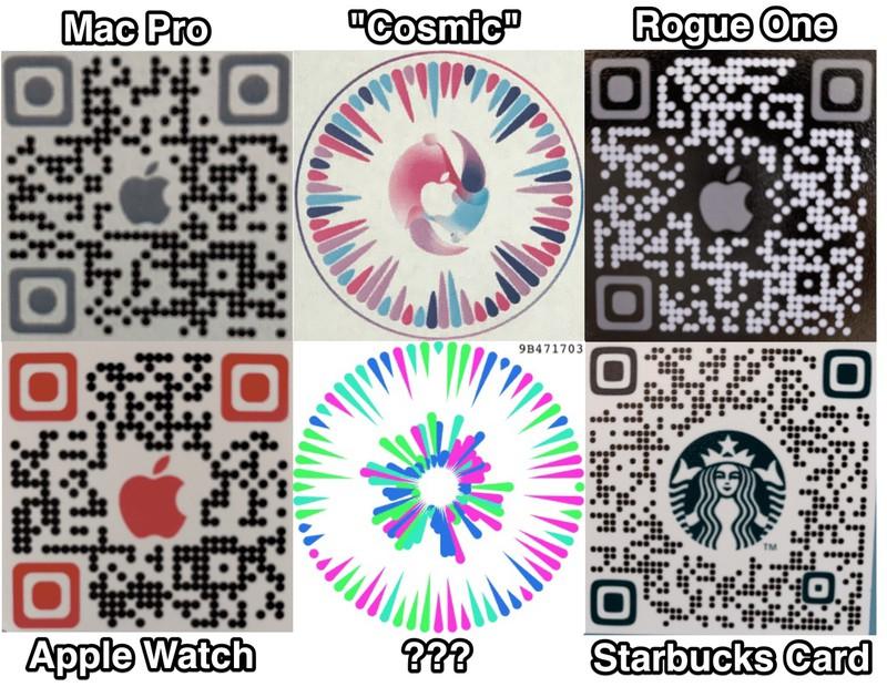 QR-коды iOS 14