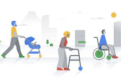 google maps wheelchair accessibility