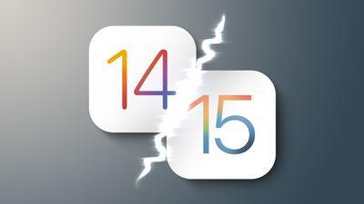 iOS 14 vs 15 feature 2